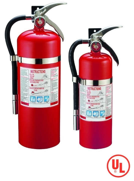 UL Listed ABC Dry Powder Fire Extinguisher