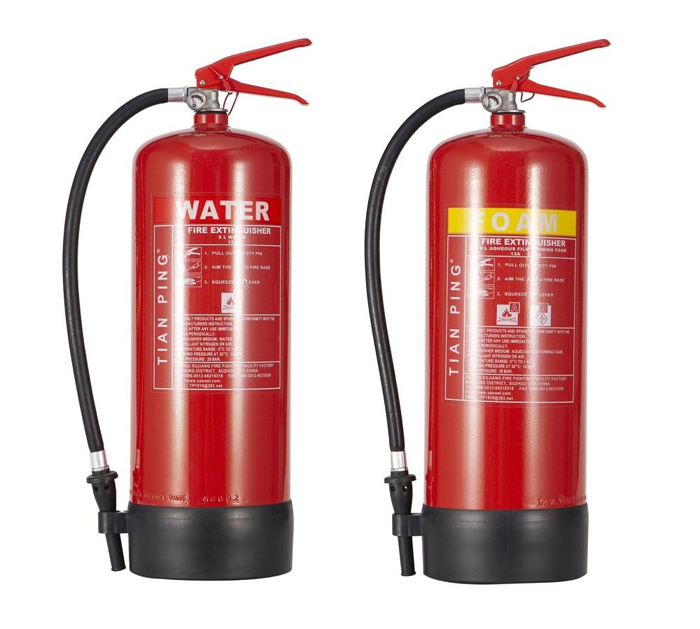 EN3 Approved Water & Foam Extinguisher