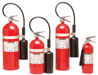 CO2 Extinguisher Aluminum Alloy DOT