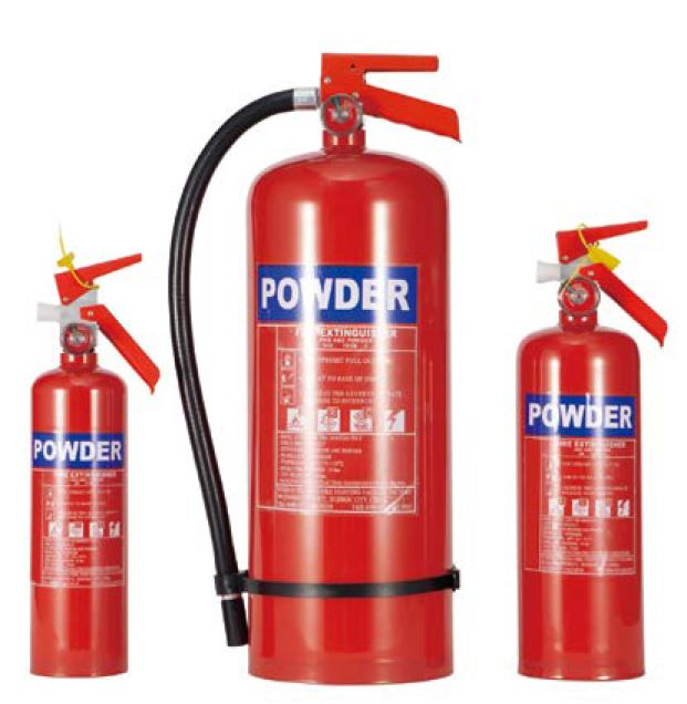 American Style Powder Fire Extinguisher