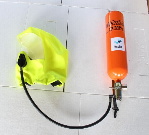 Emergency Escape breathing protective device