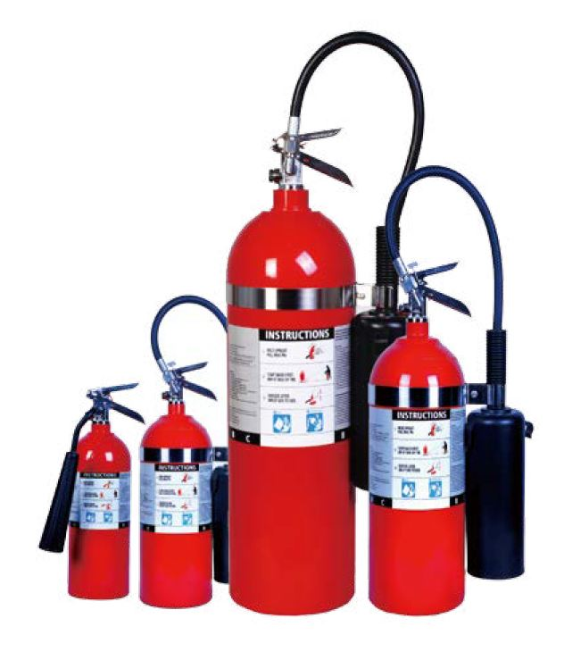 UL Listed CO2 Fire Extinguisher